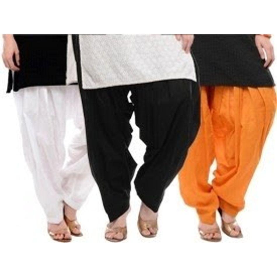 Patiala Shahi Salwar - Set Of 3 Colours