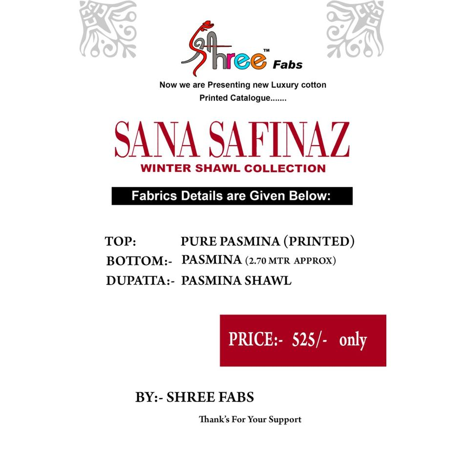 Sana Safinaz - Pashmina Collection