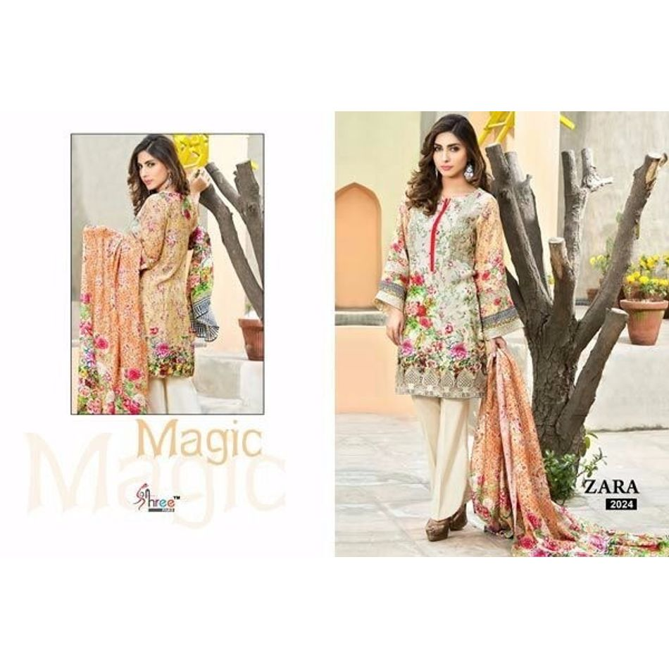 Digital Print Cotton Salwar Kameez