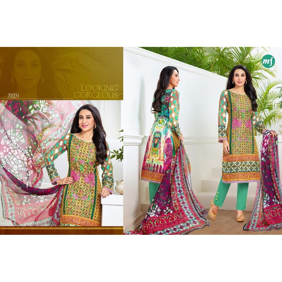 Embroidery Pashmina Suits