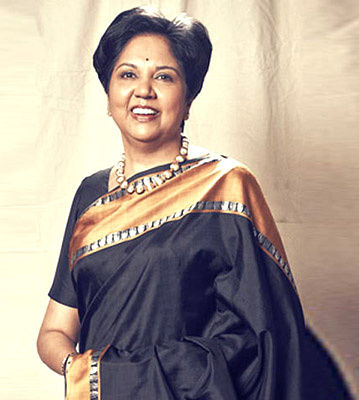 Indra Nooyi in Saree