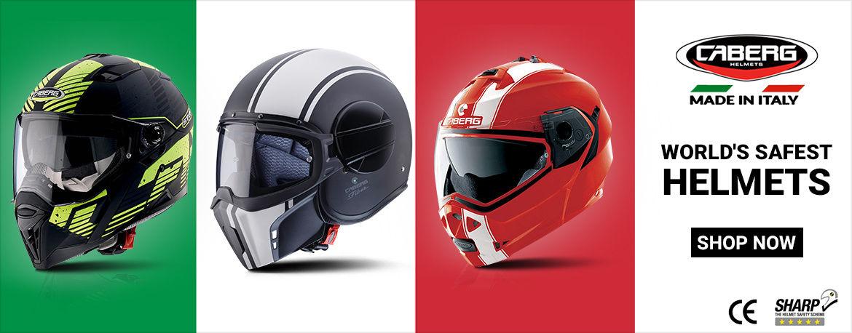 Caberg Helmets | World Safest Helmets | Made in Italy | Sharp 5 Ratings