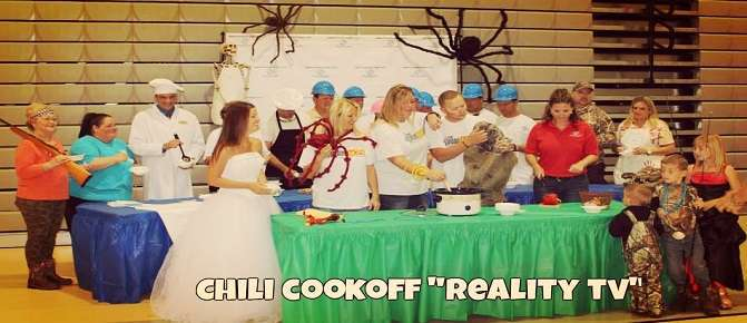 "2014 Chili Cookoff ""Reality TV"" Theme"