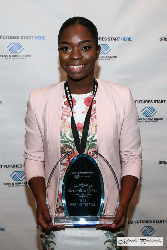 Leeandrea Jones - Youth of the Year