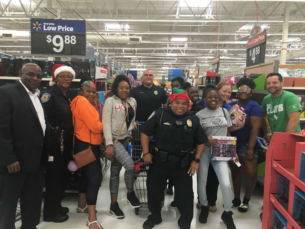 Shop With A Cop Events Boys Girls Clubs Of St Lucie County