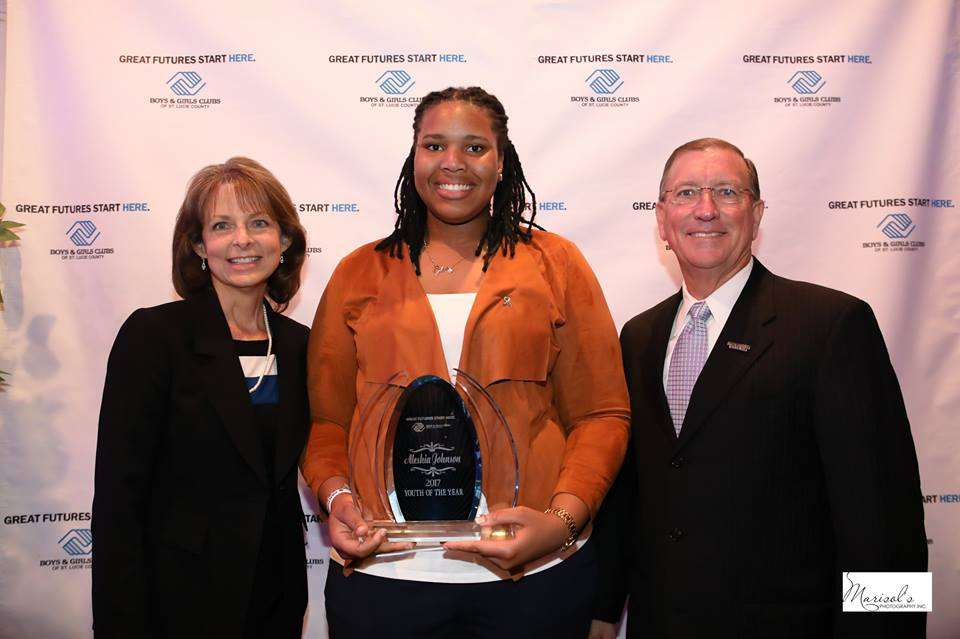 Aleshia Johnson Wins 2017 Youth Of The Year