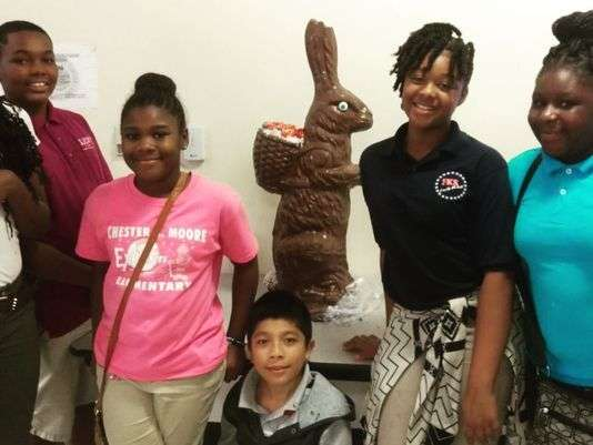 Easter Bunny Sweetens Day For BGC