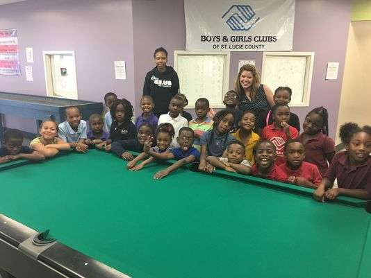 BGCOFSLC Gets Gift Of Six Billiard Tables