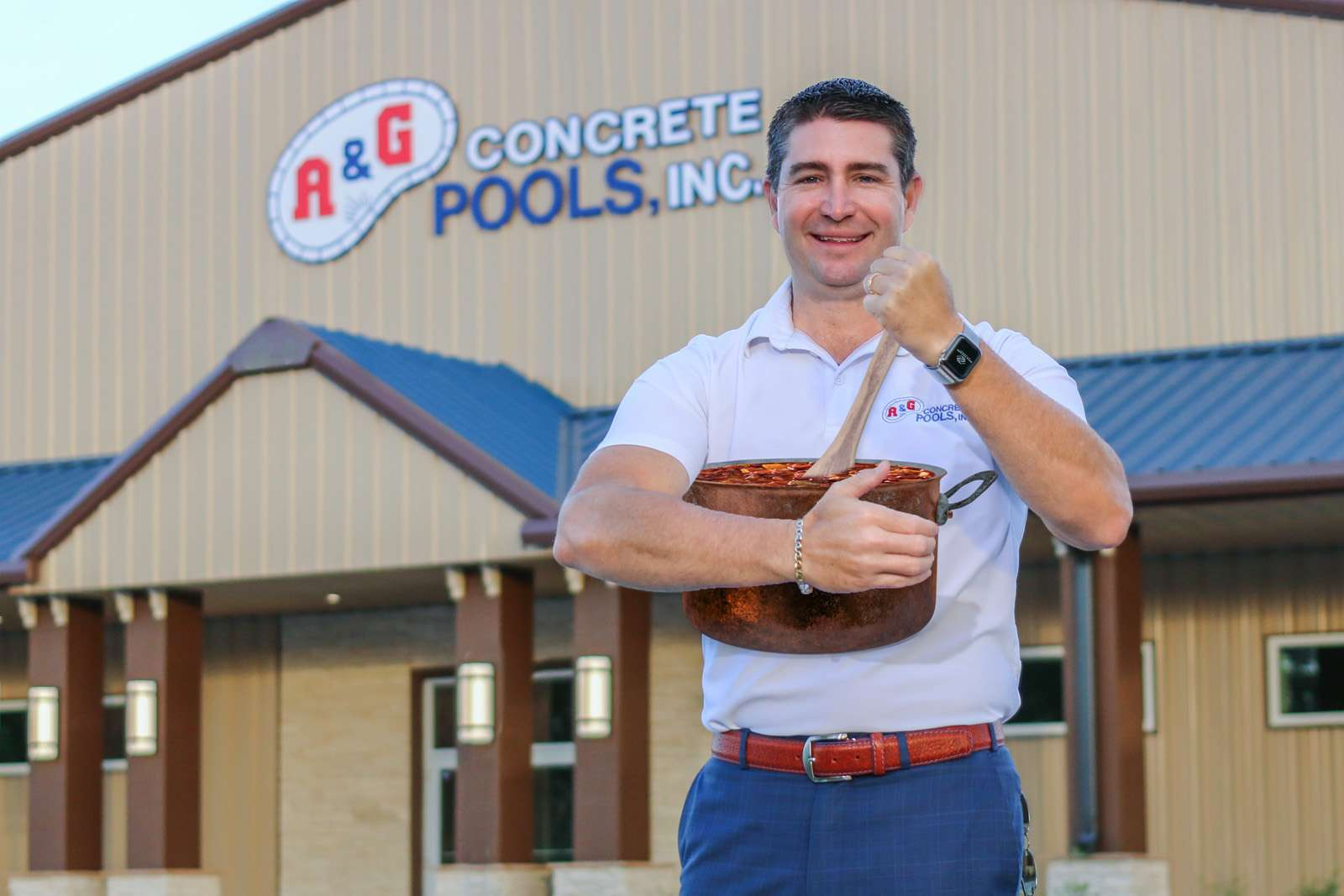 A&G Concrete Pools Stirs The Chili Pot As This Year's Title Sponsor