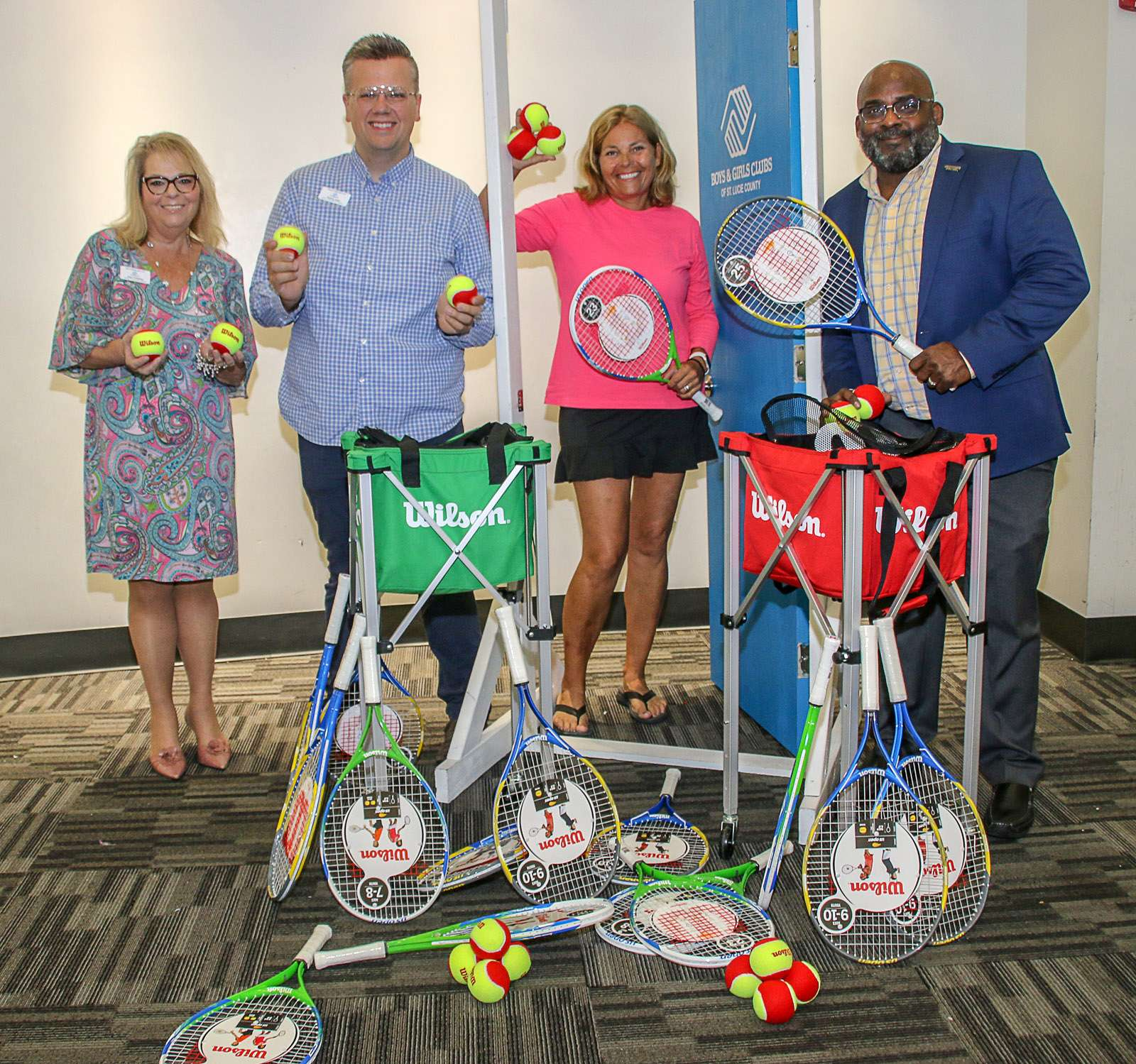 Tennis Foundation Prepares Club Kids For Athletic Success