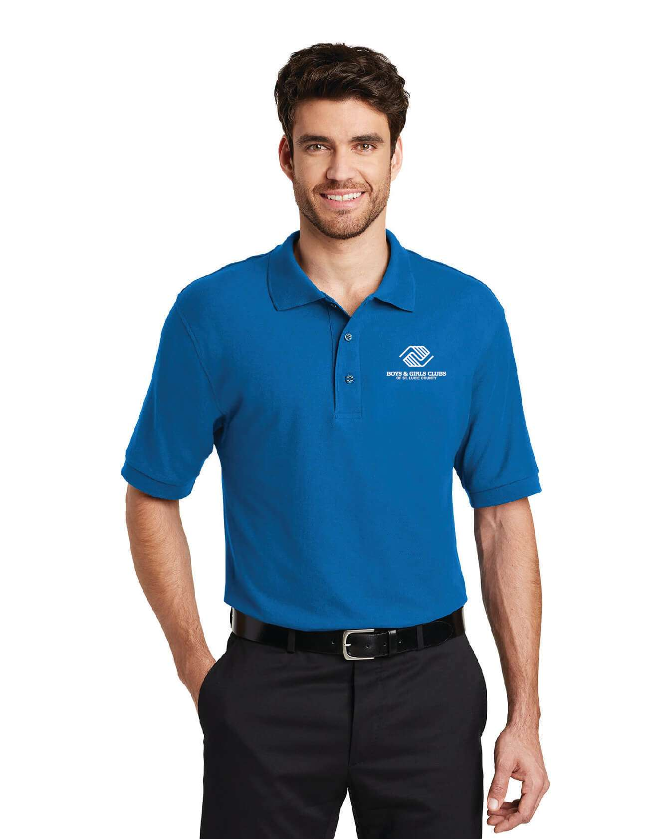 BGC-K500 Men's Port Authority Silk Touch Polo