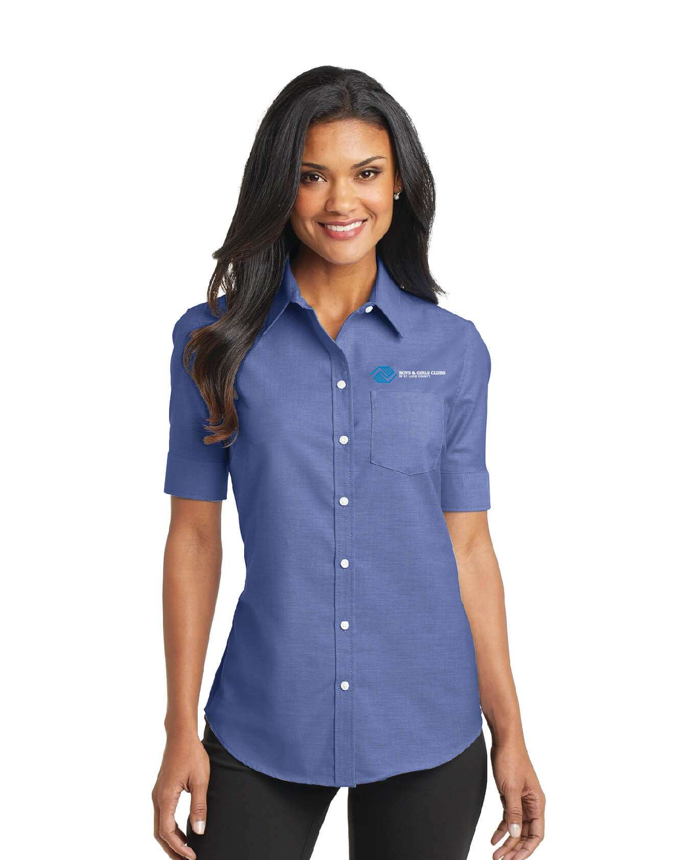 BGC L508 Port Authority Ladies S/S Easy Care Shirt