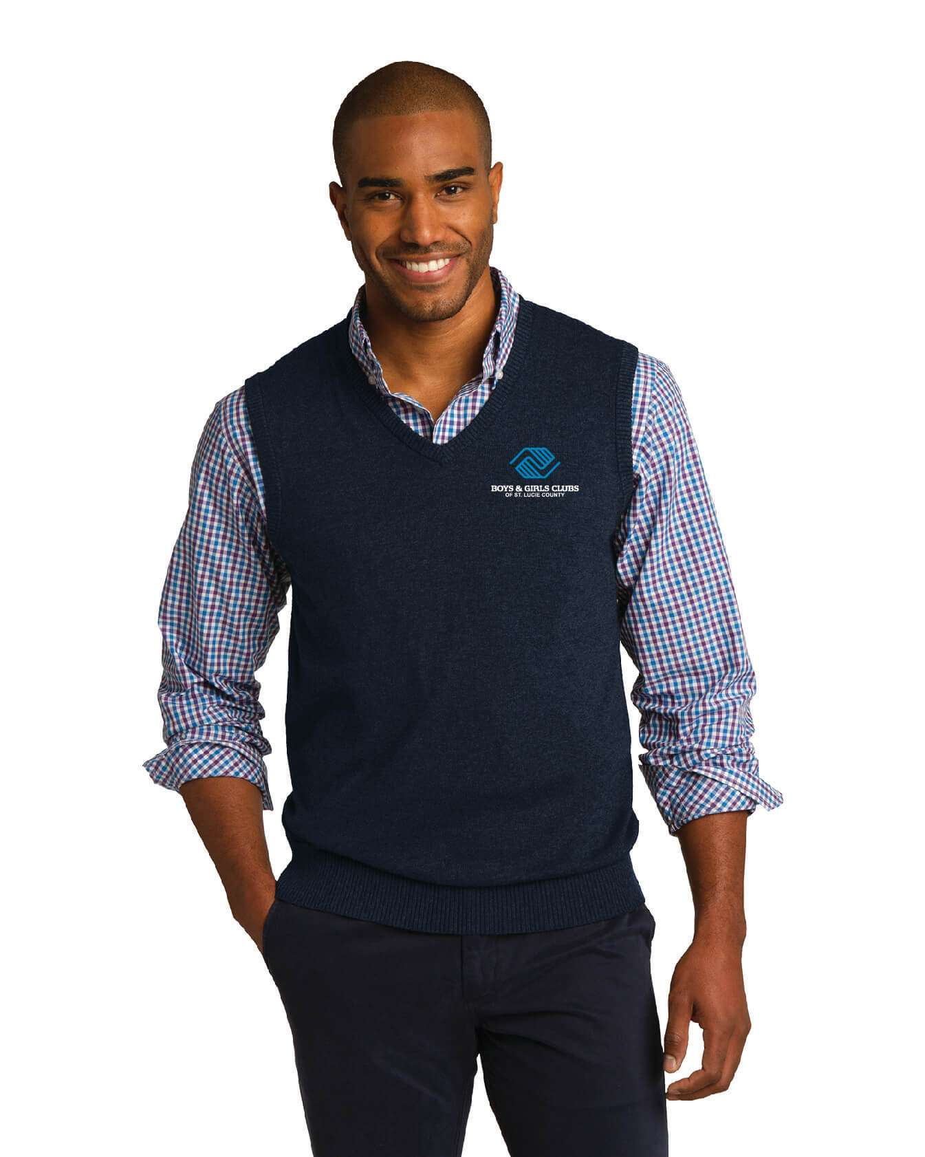 BGC SW286 Port Authority Sweater Vest