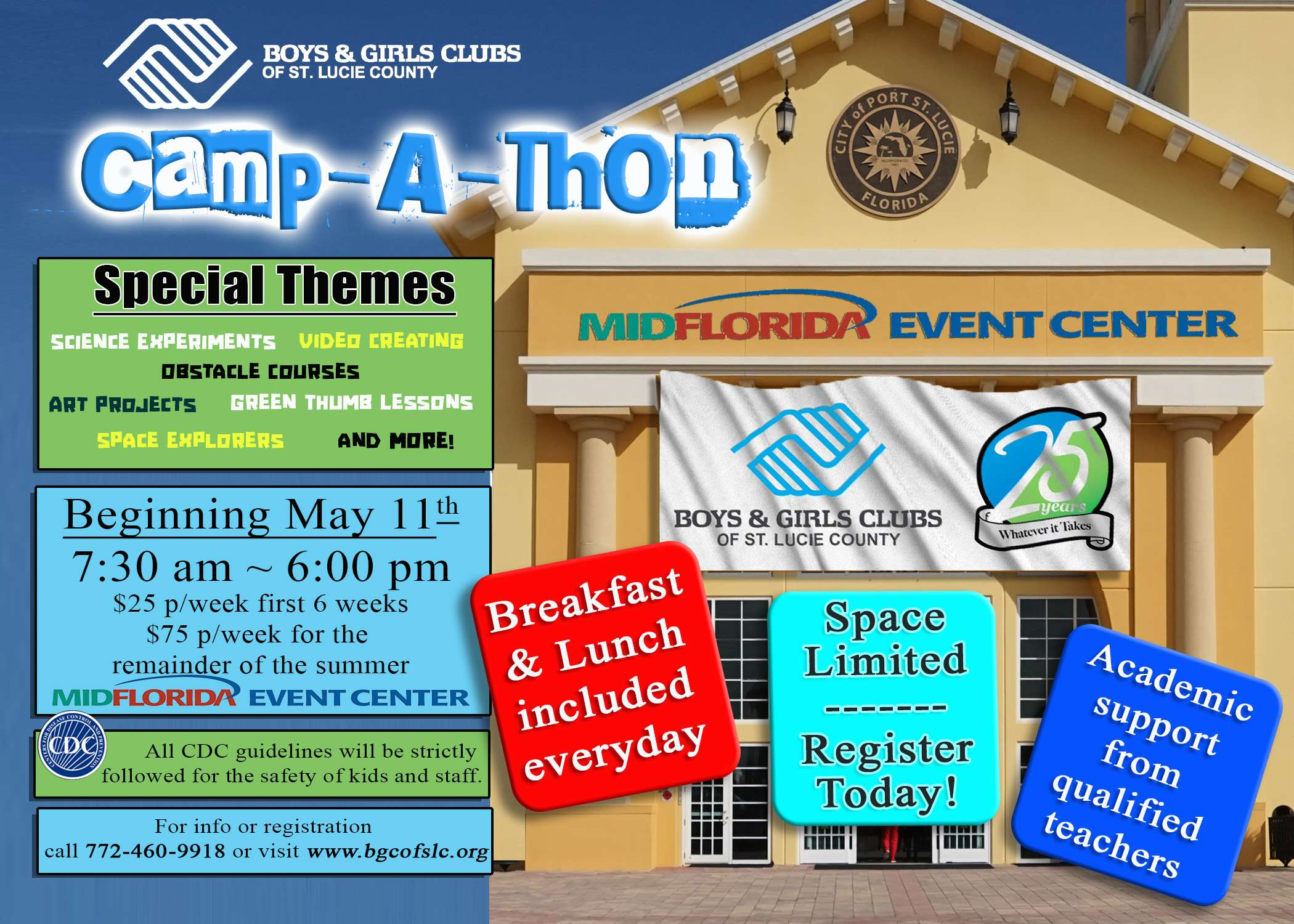 Boys & Girls Clubs Of St. Lucie County Are Back With An HUGE New Club!