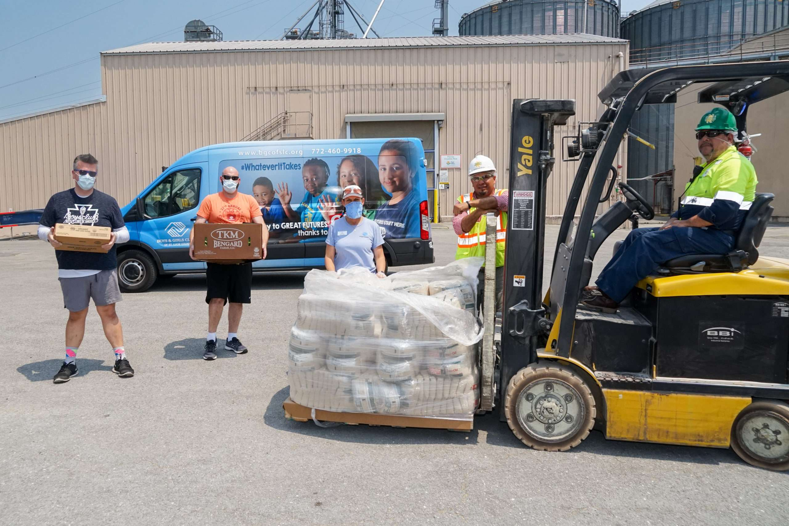 """Boys & Girls Clubs Of St. Lucie County To Use Percentage Of GL Homes' Gift For Its """"Operation Dinner Table"""" Family Feeding Program"""