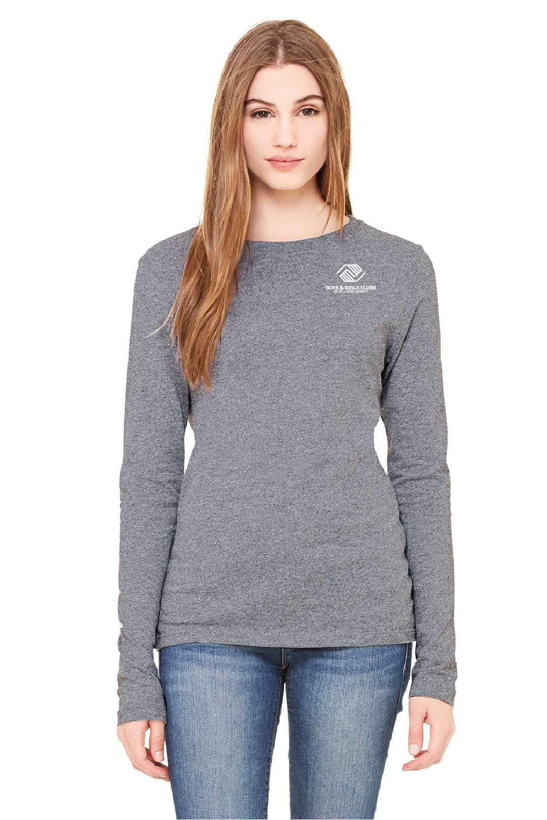 BGC-B6500 BELLA+CANVAS Ladies' Jersey Long-Sleeve T-Shirt