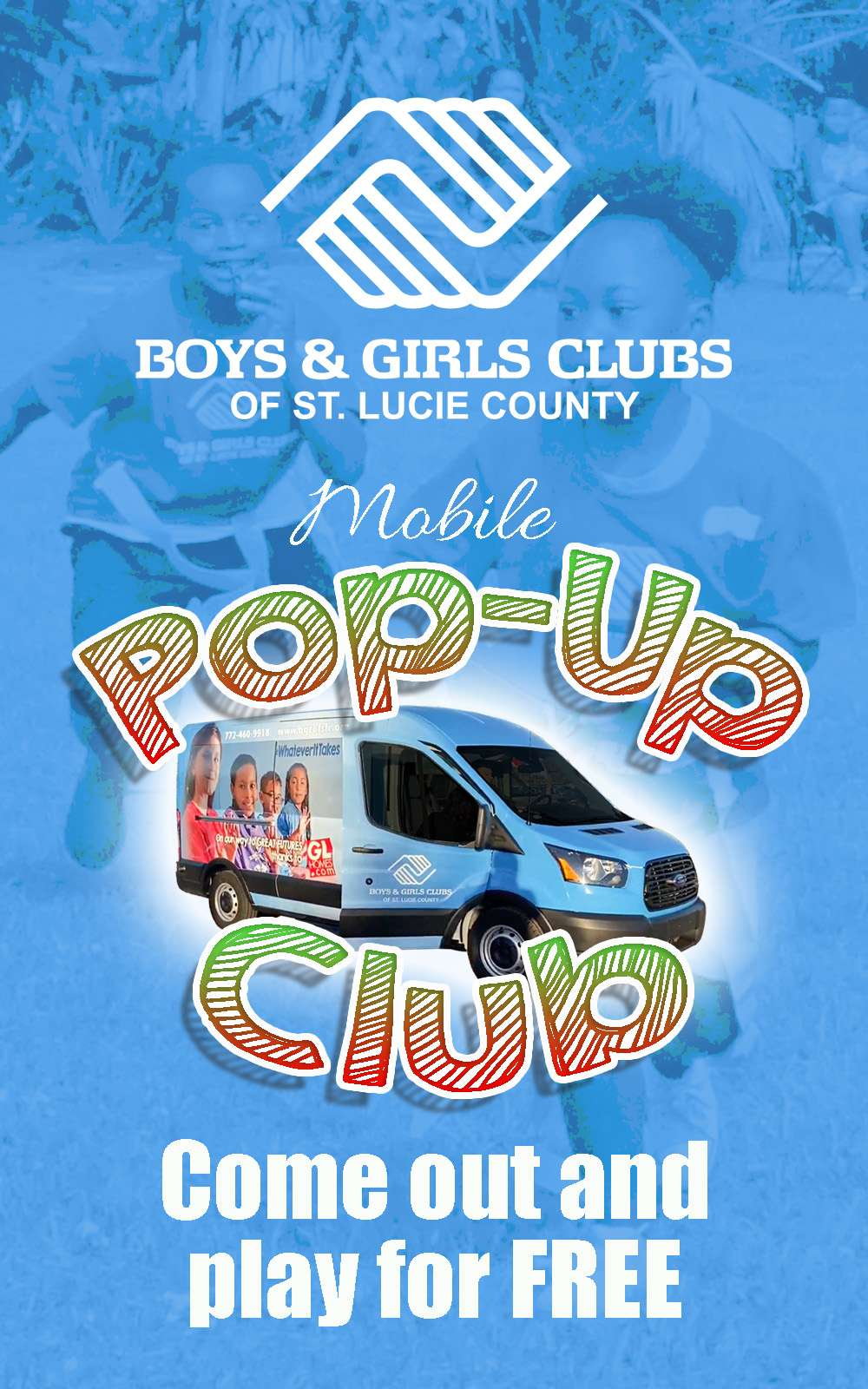 Our Mobile Pop Up Clubs Are Bringing The Fun To You!