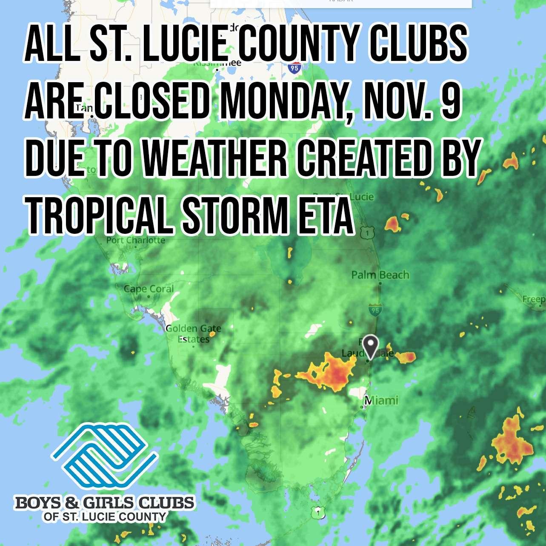 Tropical Storm ETA Update