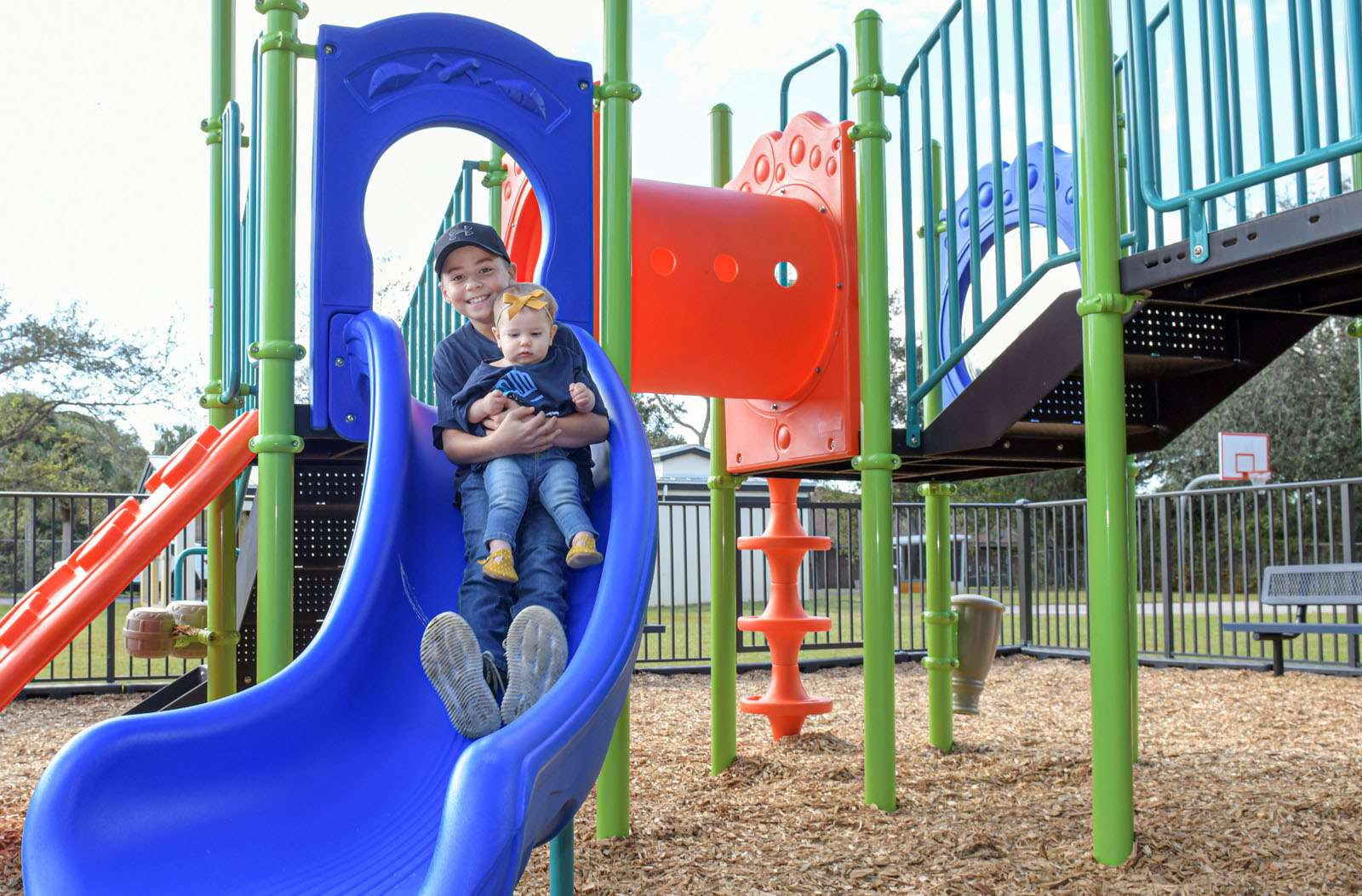 GL Homes Provides New Playground At Ken Pruitt Clubhouse