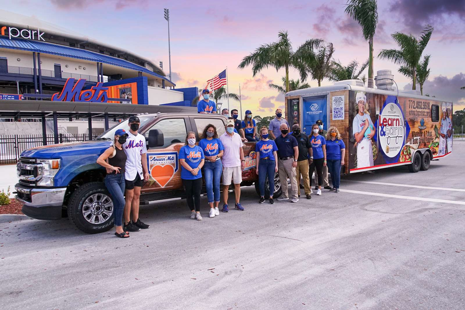 Club Teens Benefit From New Amazin' Mets Foundation
