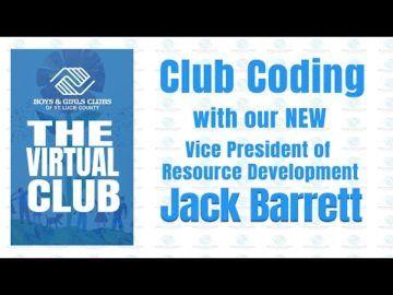 The Virtual Club - Club Coding with Jack Barrett