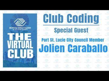 The Virtual Club - Club Coding with Jolien Caraballo