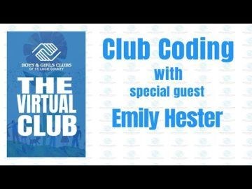 The Virtual Club - Club Coding with Emily Hester