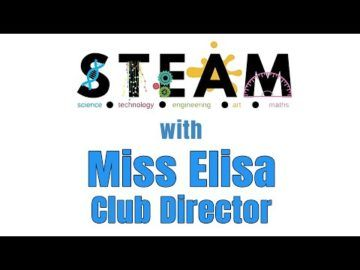 The Virtual Club - S.T.E.A.M. with Miss Elisa