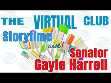 The Virtual Club - Story Time with Senator Gayle Harrell