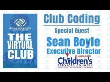 The Virtual Club - Club Coding with Sean Boyle