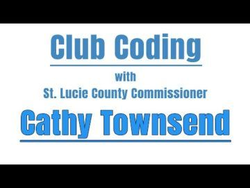 The Virtual Club - Club Coding with Cathy Townsend