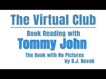 The Virtual Club - Story Time - Book with no Pictures