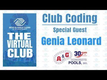 The Virtual Club - Club Coding with Genia Leonard