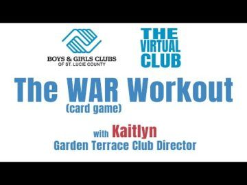 The Virtual Club Kaitlyn's War (Card Game) Workout