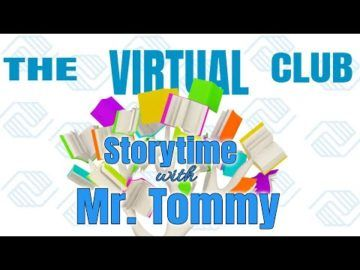 The Virtual Club - Story Time with Mr. Tommy - Charlotte's Web Chapter 4