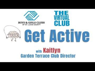 The Virtual Club - Get Active with Miss Kaitlyn - Soccer Drills