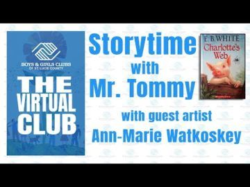 The Virtual Club - Story Time with Mr. Tommy