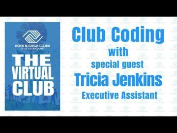 The Virtual Club - Club Coding with Tricia Jenkins