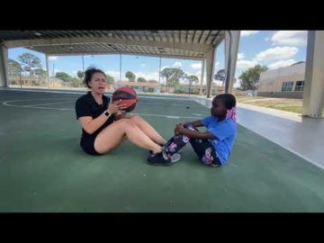 Kaitlyn's Exercise Video with kids