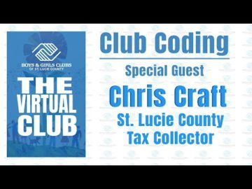 The Virtual Club - Club Coding with Chris Craft