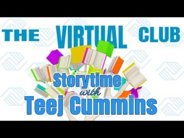 The Virtual Club - Story time with special guest Teej Cummins