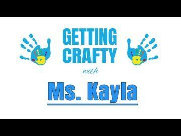 The Virtual Club - Getting Crafty with Miss Kayla