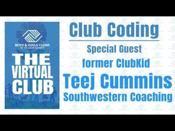 The Virtual Club - Teej Cummins recites the Club Code