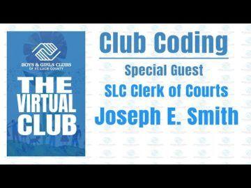 The Virtual Club - Club Coding with Joe Smith