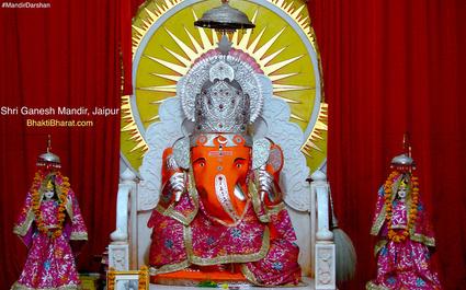 बंगाली बाबा श्री गणेश मंदिर () - Delhi Byepass, Purani Chungi, Vidhyut Nagar Jaipur Rajasthan