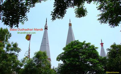 Baba Dudhadhari Mandir () - Lahtai Sirsaganj Uttar Pradesh