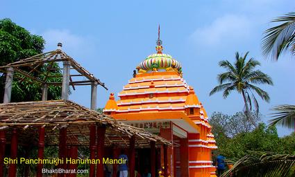 Ramchandi Hanuman Mandir () - Ramachandi, Khalakata Puri Odisha
