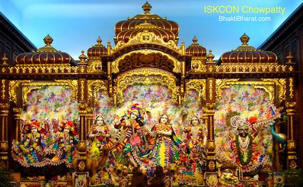 इस्कॉन चौपाटी () - 7, K. M. Munshi Marg, Girgaon Chowpatty Mumbai Maharashtra