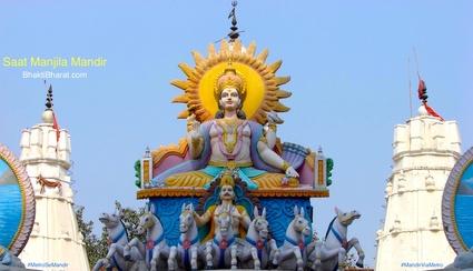 सात मंजिला मंदिर () - Fruit Market,Tilak Nagar Delhi New Delhi