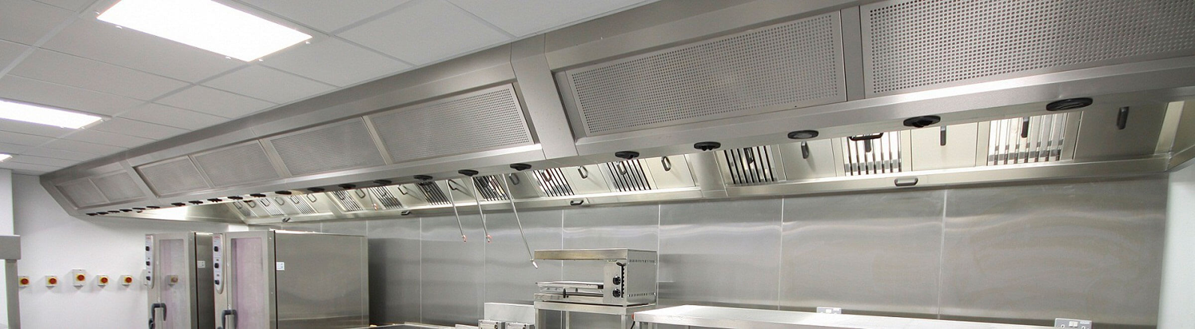 kitchen ventilation extraction dual system Catering Equipment